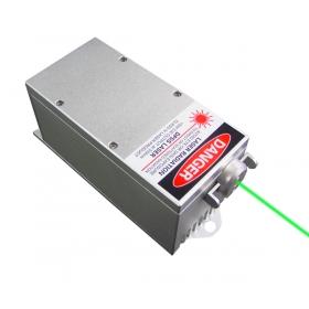 2000mW 532nm DPSS láser verde Sistema