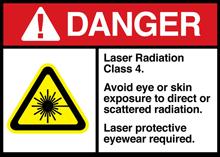 láser de clase IV