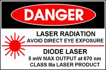 láser de clase IIIa